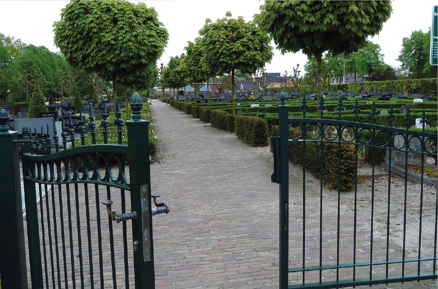 Begraafplaats Vroomshoop